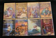 Animated Stories From The Bible/new Testament Nest Entertainment Lot Of 8 Dvds