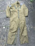 Royal Air Force Surplus Issue Raf Air Crew Olive Green Coverall Mk15t Fight Suit