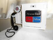 Gamewell Police And Fire Alarm Call Box Telephone Phone Officer Station Antique