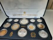 Proof Coin Set Italy 2001