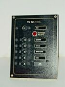 Boat Airpax 110 Volts Ac Electrical Control Instrument Panel In Dash 6 Switches