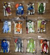 Playmobil Scooby-doo Mystery Figures Series 1 Complete Set Of 12 Ghosts