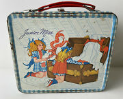 Junior Miss Metal Lunchbox With Thermos By Aladdin Vintage