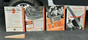 4 Antique Original Cardboard Disston Saws And Files Advertising Signs 21 X 15