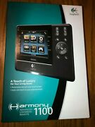 Logitech Harmony 1100 Universal Remote Color Touch Screen - New In Box