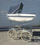Antique Vintage Giordani Baby Stroller 1950and039s