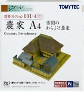 Tomytec Building 001-4 Japanese Country Farm House A4 N Scale