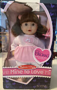 Mellissa And Doug Mine To Love Brianna 12inch 31.cm Baby Doll With Pacifier