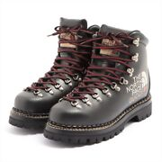 X Leather Boots 7 1/2 Menand039s Black 655401