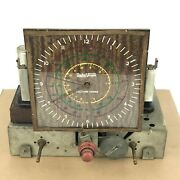 Radio Vogue Tell Time Tuning 718 R Tube Radio Chassis Case Electric Corp.