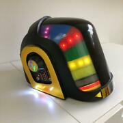 Daft Punk Led Helmet Cosplay Used Working Music Collectible