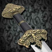 Sword Vikingleif Erikson With Scabbard And Belt Ws501651 Battle Ready Training