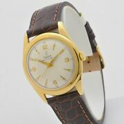 Tudor Oysterdate 31 Gold 18 Carats Man Watch 1 5/16in 60s Serviced