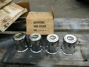 Vintage Keystone Wheel Center Caps Nos In An Attic For 40 Years