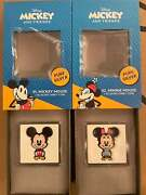 Chibi Mickey And Minnie Mouse 1oz Silver Coins Limited Edition - In Hand