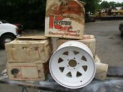 Vintage Keystone Wheels 15x7 5 4.50 Ford Dodge Nos Set Of 5 Attic For 40 Years