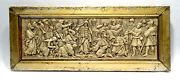 Tablet Carved Embossed Xviith/xviiiandegraveme S. Moses With The Tablets Of Law