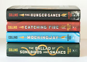 Lot Of 4 1-4 The Hunger Games Complete Series Set Hc Books Ballad Songbirds