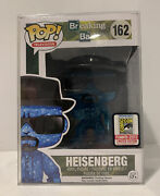 Rare Blue Crystal Heisenberg Sdcc 2015 Exclusive Limited Edition Funko Pop 162