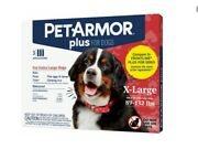 6 Doses Pet Armor Plus For X-large Dogs 89-132 Lbs