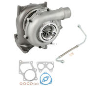 For Chevy Kodiak Gmc Topkick Turbo Turbocharger W/ Gaskets And Oil Line Csw