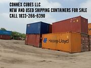 20and039 Used Shipping Container Storage Container Jacksonville Florida