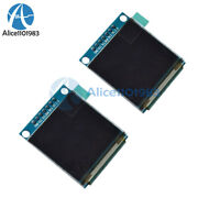 2pcs 1.5'' Inch Spi Oled Display 262,144 Color Lcd Module Ssd135 For Arduino Diy