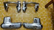 Chevy 1953 53. Wrap Arounds. Wing Tips Bumper Guards. Set 4 Pieces