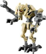 Lego General Grievous Star Wars Minifigure From 8095 9515