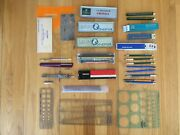 Drafting Supplies And Equipment Various Brands
