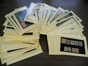 Ww British Colonies Amazing Assortment Of Stamps In Stock Cards