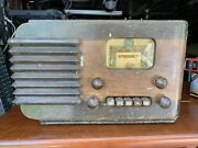 Antique 1939 Silvertone Model 6120 Radio - Project Piece...not Working