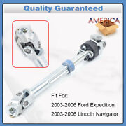 For Ford Expedition Lincoln Navigator Lower Steering Column Shaft 6l1z3b676aa Us