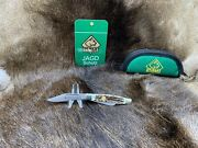 2009 41 0675 Stockman Knife With Stag Handles - Mint In Pouch - A1