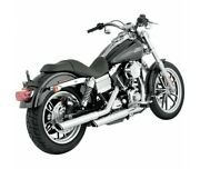 Harley Davidson Fxd-91/16-silencieux Exhaust Vance Hines Round Twin Chrome-1