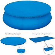 Swimming Pool Cover Dustproof Rainproof Poncho Cover Cloth For Above Ground Pool