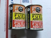 2 Pyroil Snowmobile Fuel Additive Powand039r Back Sealed 4oz Cans Nos Sled Boost