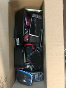 Lot Of 50 Used Cell Phones Smartphones For Scrap Gold Flip And Other Types