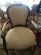 Ethan Allen Antique French Country Living Room Lounge Chair Clean. Beautiful.