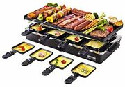 Raclette Table Grill Electric Indoor Grill Griddle Korean Bbq Smokeless Cheese