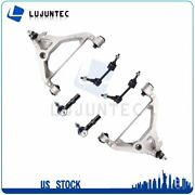 6pcs Front Control Arm And Ball Joint Tie Rod Ends For 2003-2005 Ford Expedition