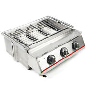 Gas Grill Bbq Camping Propane Barbecue Burner Backyard Cooking Outdoor Portable