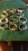 12 Vintage Watch Lot Assorted As Is Untested All Need Batterys