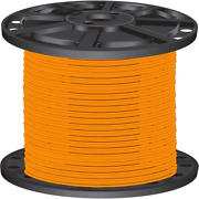 Southwire Thhn Wire 2500 Ft. 10-gauge Heat Resistant Solid Copper Orange