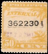 Philippines W638rb Used Two Different Serial Numbers