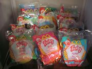 Mcdonalds Happy Meal Toys 2000 Furby Soft Keychain Collection Set Of 12 Packaged