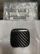 Nissan Genuine R35 Gt-r Gtr Nismo Tow Hook Cover Dry Carbon Oem