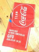 Limited To Piece Tokyo Olympics 2020 Olympic Torch Relay Coca Cola Towel Gifu