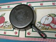 Vintage Griswold Cast Iron Skillet No.5 Large Block Logo, Cleaned And Seasoned