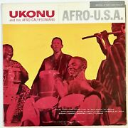 Ukonu And His Afro-calypsonians - Afro-u.s.a. Lp Mint Likely Never Played